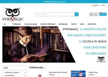 Realizzazione shop online StrixMagic